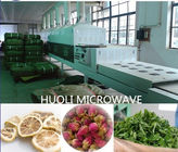 Auto Microwave Dryer Food Drying Equipment / Nut Drying Machine 18kw