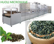 Tunnel Stainless Steel Microwave Drying Equipment Tea Leaf Drying Machine