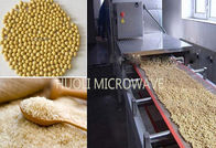 Grains Puffing Microwave Drying Equipment for Soybean Product 25KW