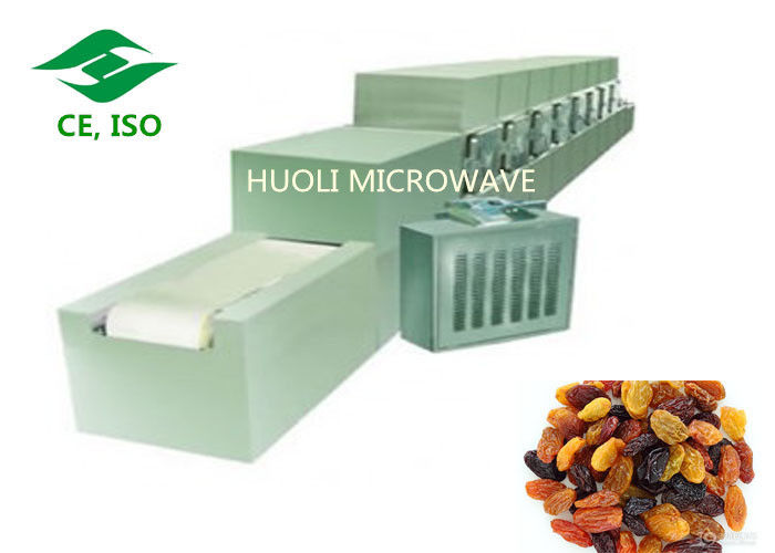 Microwave Drying Equipment Industrial Sterilizer Device For Dats / Nuts / Green Tea