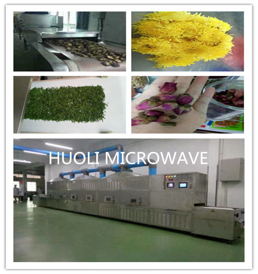 Continuous Tunnel Belt Microwave Dryer And Sterilizier Microwave Drying for pet Food