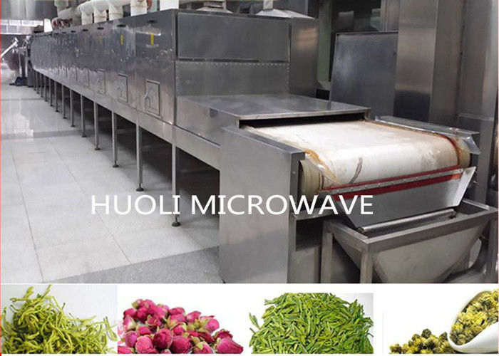 Stainless Steel Rose Flower Dryer Machine Microwave Drying